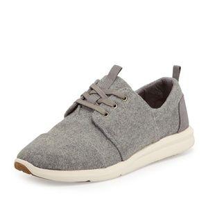 Toms Grey White Sole Del Rey Sneaker